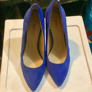 JustFab Royal Blue Heels